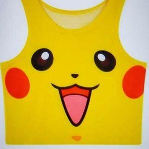 Pokemon Cosplay Lolita Crop Top